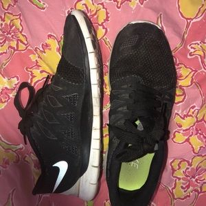 Nike free 5.0 Black Shoes